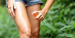 Применение репеллентов от комаров и клещей