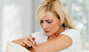 Возникновение кожных заболеваний