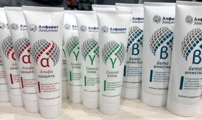 Каталог продукции средств защиты кожи Алфавит Защиты